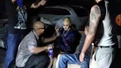 """صورة فيديو: كانت تصور عملية خطف """"مزيفة"""".. فوقعت الكارثة"""