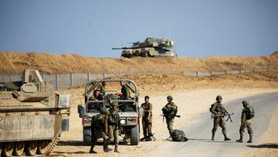 صورة إصابة جندي إسرائيلي برصاصة في الرأس في غور الأردن