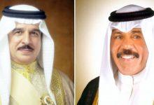 صورة سمو الأمير يتلقى إتصالاً من ملك البحرين مهنئاً بالأعياد الوطنية