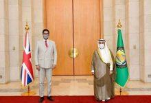 صورة الحجرف يؤكد أهمية العلاقات (الخليجية – البريطانية) وتعزيز التعاون الاقتصادي المشترك