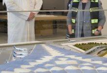 صورة وزيرة (الأشغال) ورئيس (الطيران المدني) يقومان بزيارة تفقدية إلى مشروع مبنى مطار الكويت الجديد (تي 2) للاطلاع على سير الأعمال