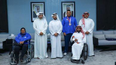 صورة رئيس اللجنة الأولمبية الكويتية يشيد بإنجاز لاعبي الكويت بدورة الألعاب البارالمبية (طوكيو 2020)