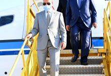 صورة الغانم يصل إلى النمسا للمشاركة بالمؤتمر العالمي لرؤساء البرلمانات