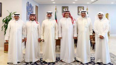 صورة رئيس مجلس الأمة بالإنابة يستقبل رئيس وأعضاء مجلس إدارة اتحاد الإعلام الإلكتروني