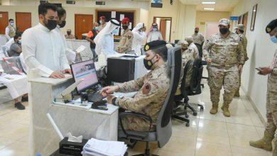 صورة (القوى البشرية): الدافع الوطني أهم دوافع التحاق الشباب بالجيش والقوات المسلحة الكويتية ونيل شرف الخدمة العسكرية