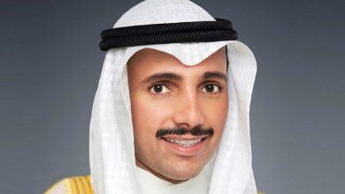 صورة تزكية رئيس مجلس الأمة رئيسا فخريا للاتحاد الكشفي للبرلمانيين العرب بالإجماع